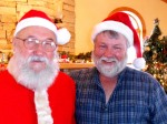 Dave Berkey tries to emulate Santa...