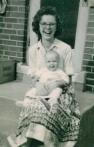 Me holding sister Cynthia...
