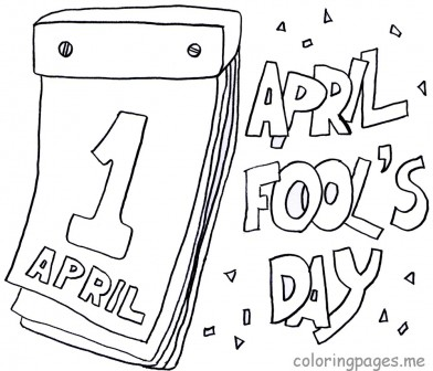 April Fool\'s Day coloring pages | CAROLYN\'S COMPOSITIONS