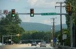 "No longer in the ""cut""…In Ligonier with the Laurel Ridge in the distance"