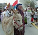 Palm Sunday March in Connellsville, PA