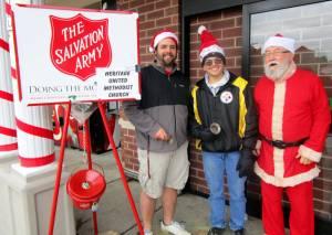 Ringing the Bell in Ligonier, PA