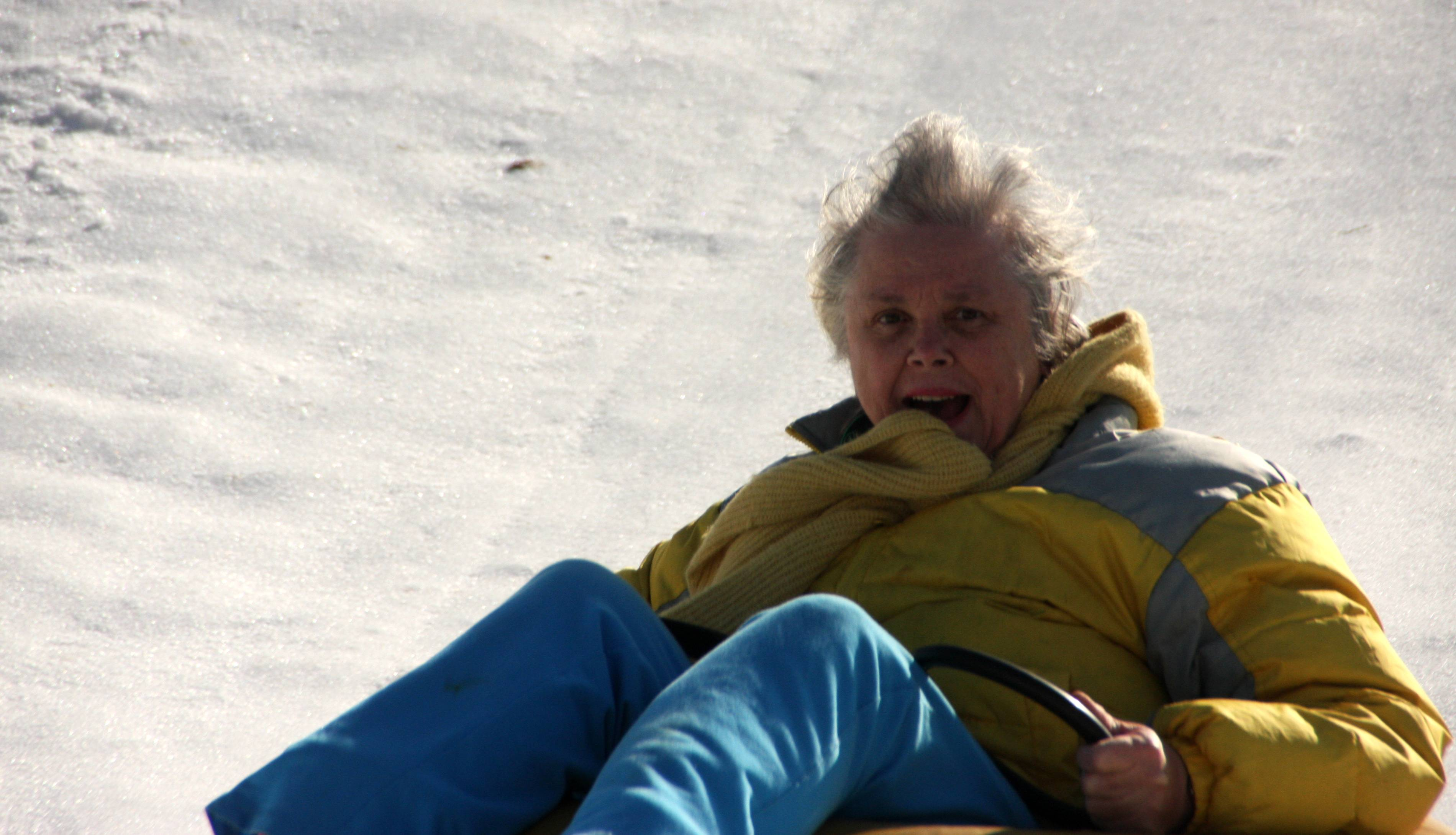 Coiled Tubing Bad Day : Snow tubing part carolyn s st ride