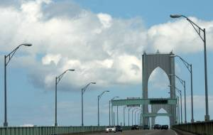 The Newport (Pell) Bridge